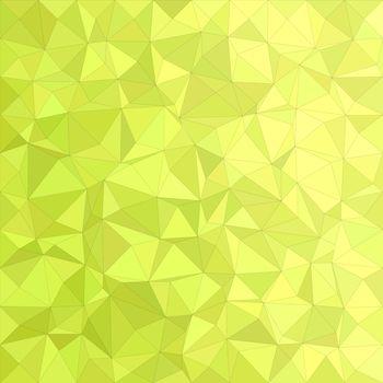 Yellow irregular triangle mosaic vector background design