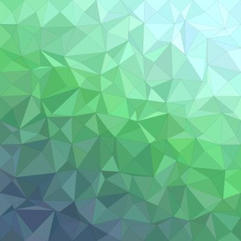 Abstract irregular triangle mosaic vector background design