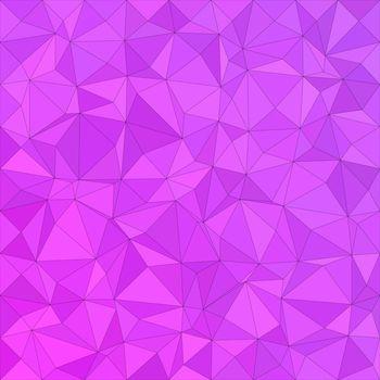 Magenta irregular triangle background design