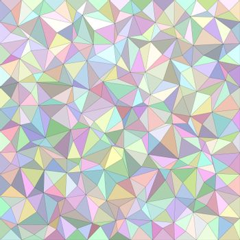 Light color irregular triangle background design