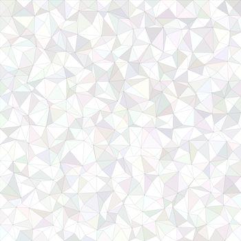 White irregular triangle mosaic background design