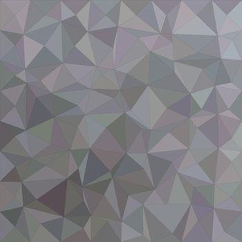 Grey irregular triangle mosaic background design