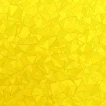 Golden irregular triangle background design