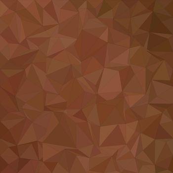 Brown irregular triangle mosaic background