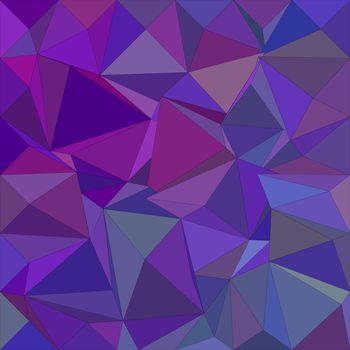 Purple irregular triangle mosaic background