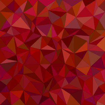 Maroon irregular triangle mosaic background design