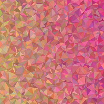 Irregular triangle mosaic vector background design