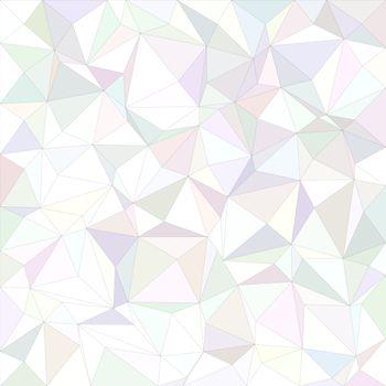 White irregular triangle background
