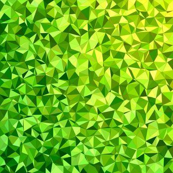 Green irregular triangle mosaic background design