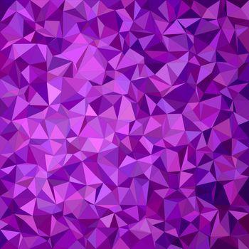 Purple irregular triangle mosaic background design