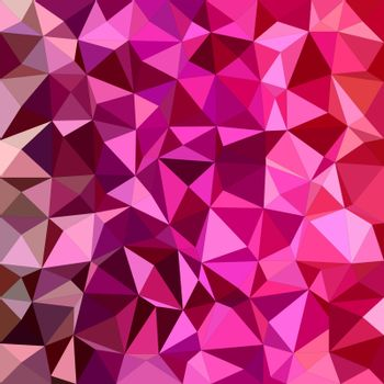 Magenta triangle mosaic vector background design