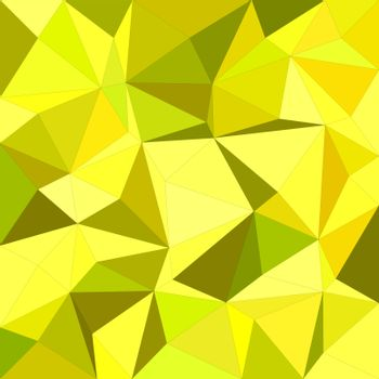 Yellow irregular triangle mosaic background design