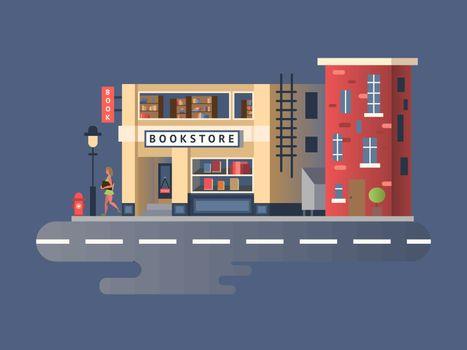 Book shop building