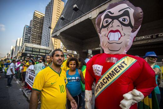 BRAZIL - CORRUPTION - PROTEST