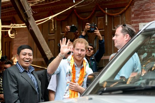 NEPAL - POLITICS - BRITAIN - ROYALS