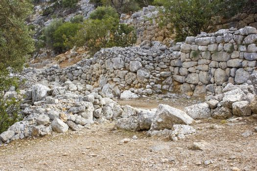 Lato, ancient city on the island of Crete