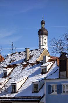 Tower church Maria Himmelfahrt Landsberg