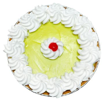 Whole Keylime Pie with Cherry on Top