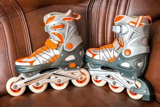 Women's roller skates .