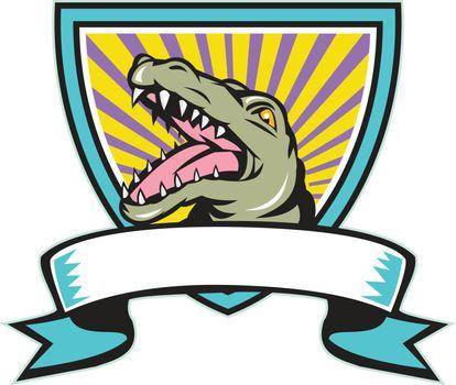Alligator Snapping Crest Retro