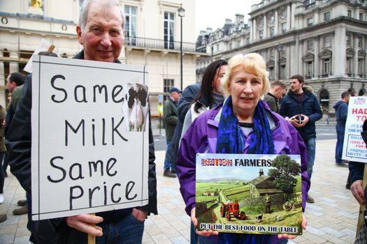 BRITAIN - AGRICULTURE - FARMERS - DEMO