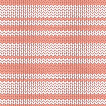 Colorful striped knitted background, vector illustration