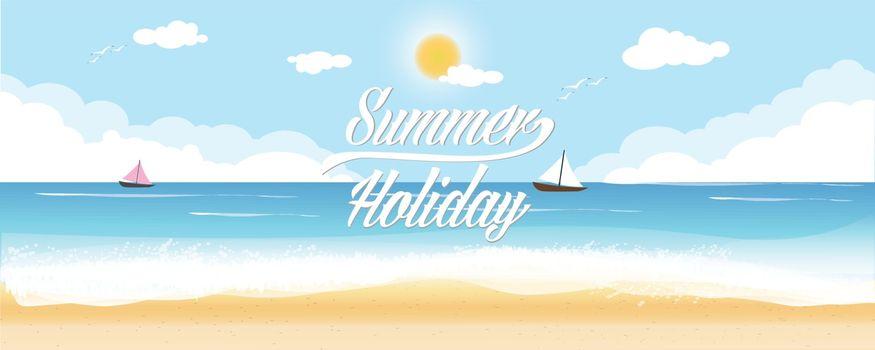 Summer Holiday sea sky