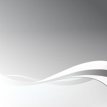 Abstract gray lines motion background. Good for financial annual