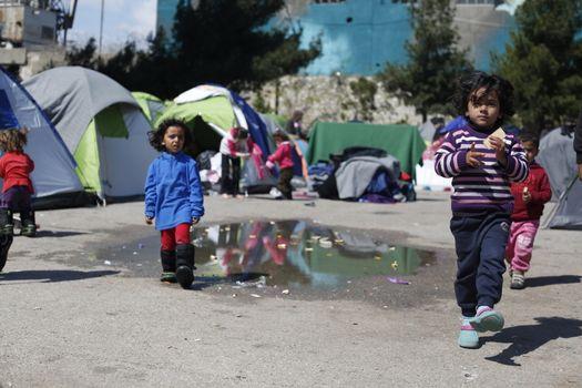 GREECE - POLITICS - REFUGEES