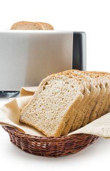Wholemeal toast bread