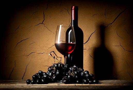 Wine in clay cellar