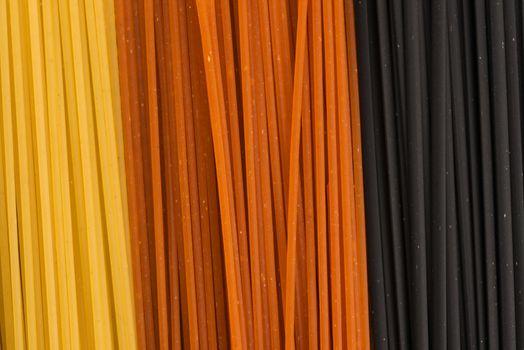 three colour pasta