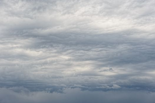heavy overcast clouds