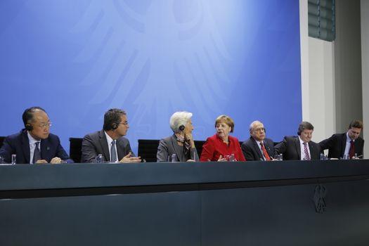 GERMANY-BERLIN-ECONOMIC MEETING
