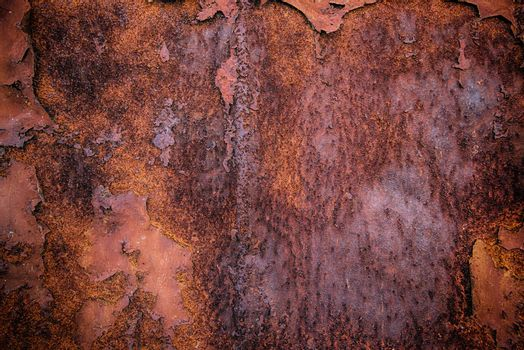 Rusty metal plate texture, hdr image