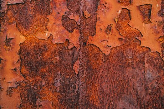 Corroded steel iron plate texture
