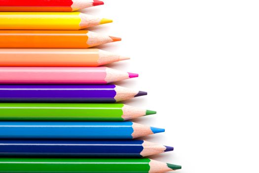Colorful Pencil Backdrop