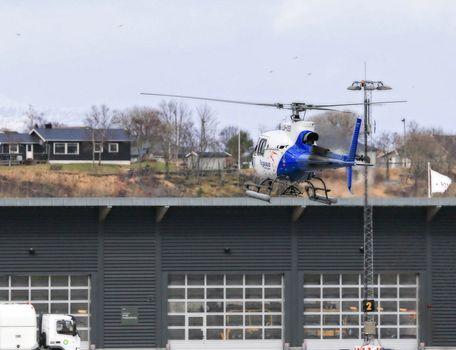 Pegasus lander på Brønnøysund lufthavn