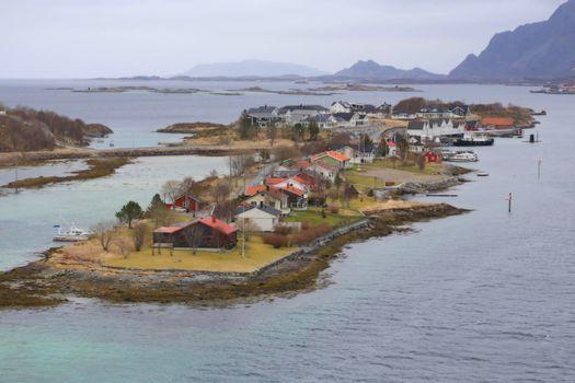 Fra kystbyen Brønnøysund