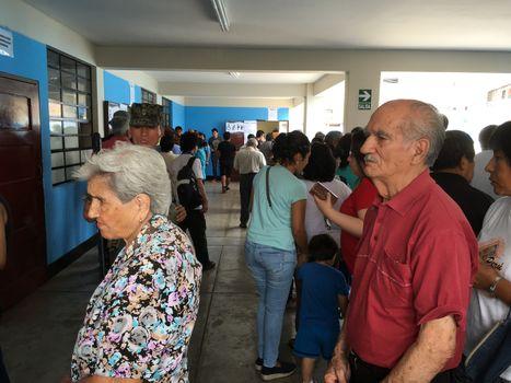 PERU - ELECTIONS - VOTE