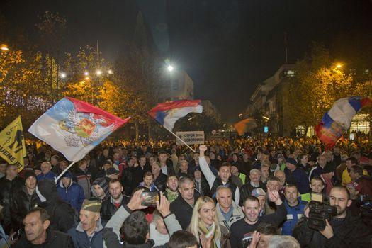 MONTENEGRO - PROTEST - POLITICS