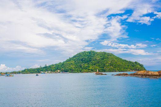 Sea Island is a beautiful small fishing port kungkraben