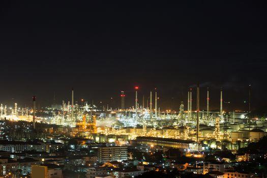 Oil refinery industry big Beautiful