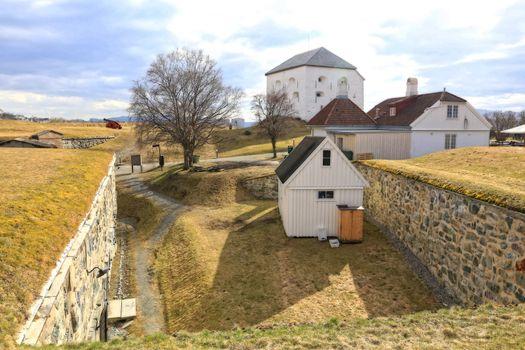 Rundtur i Trondheim en vårdag - På Kristiansten festning