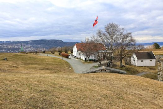 Rundtur i Trondheim en vårdag - Kristiansten festning