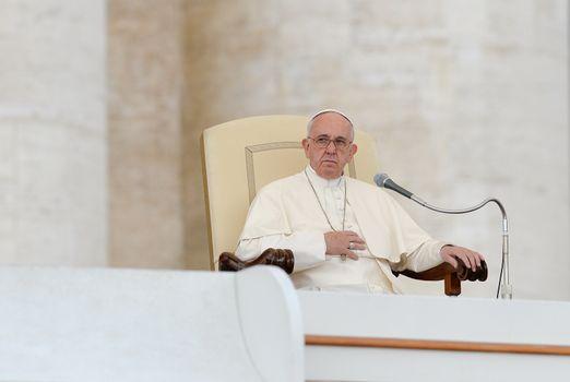 VAITAN-ROME-POPE WEEKLY GENERAL AUDIENCE