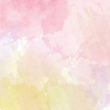 Abstract vector hand-drawn watercolor background