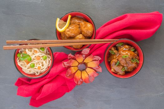 Small Oriental Meal