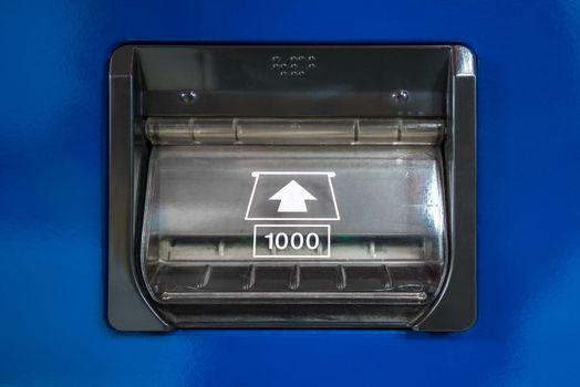 vending Machine banknote insert
