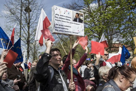 POLAND-WARSAW-POLICE ACT PROTEST